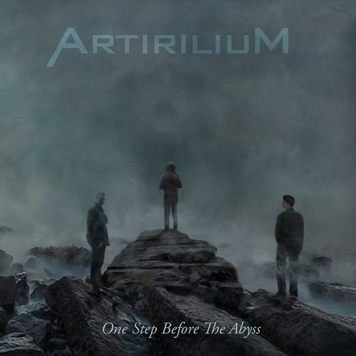 "CD Album Cover (front/back) for german metal band ""Artirilium"""
