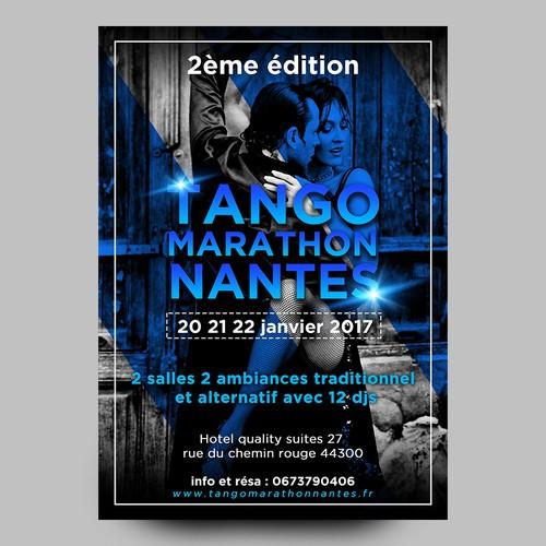 flyer for Tango Marathon