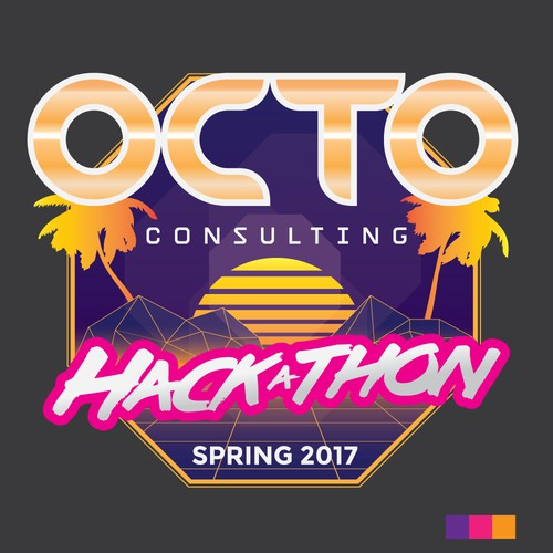 Retro style HackaThon