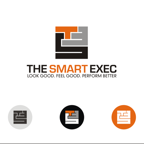 Create a 'clever' and powerful logo for The Smart Exec
