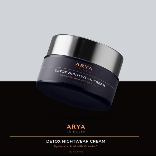 Cream Jar Design