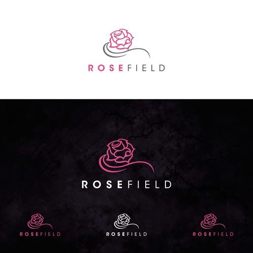 Rosefield logo, a hotel chain company...