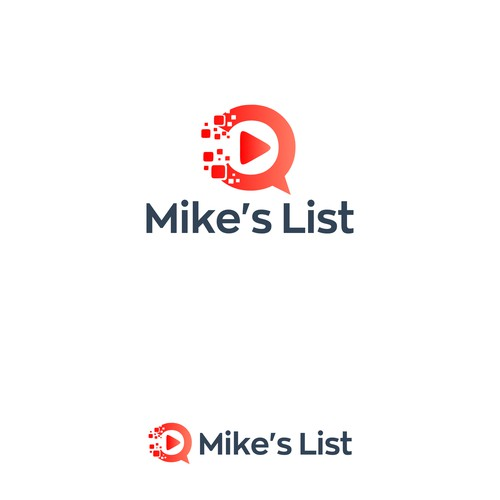 Mike's List logo design