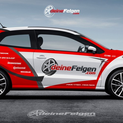 DEINEFELGEN CAR WRAP DESIGN