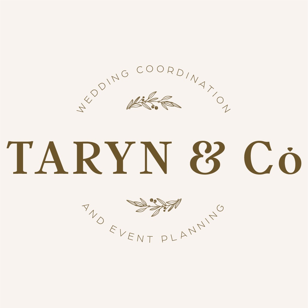 Beautiful logo for an experienced lavish wedding planner