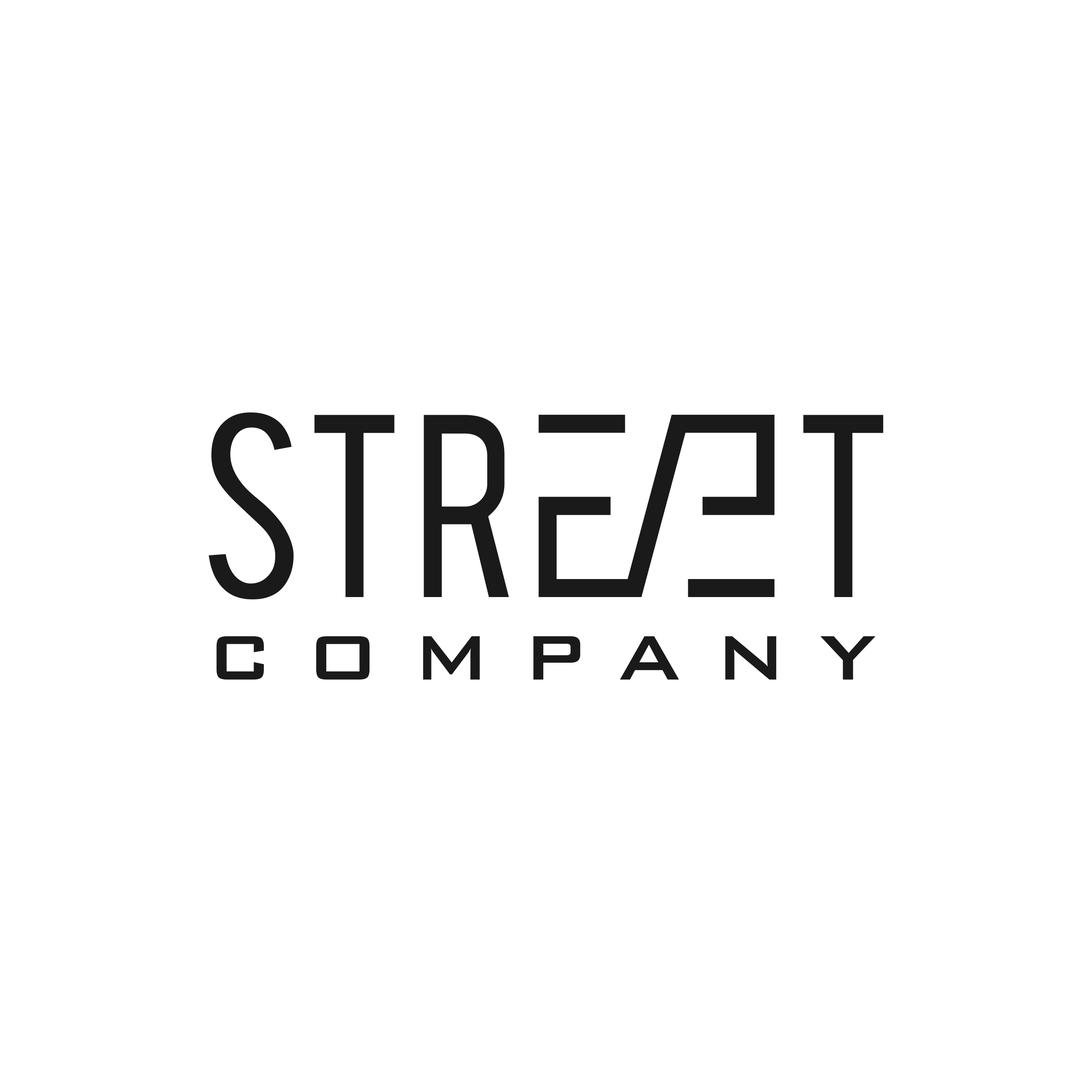Modern logo for Street Wear