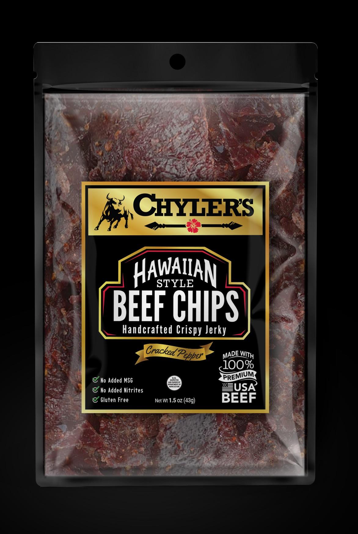 Chyler's Hawaiian Beef Chips