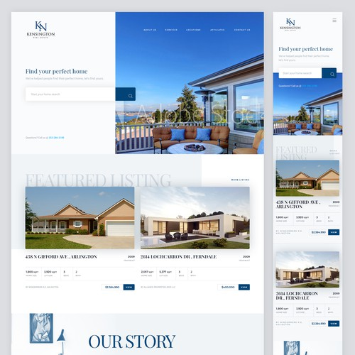 Kensington Real Estate Website