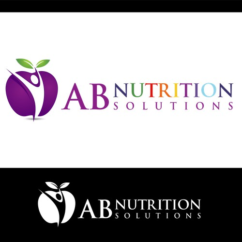 Create an eye-catching design for AB Nutrition Solutions