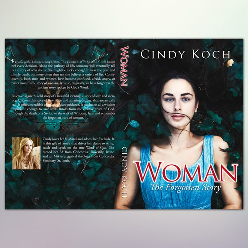 """Book Cover Concept for """"Woman - The Forgotten Story"""" 3"""