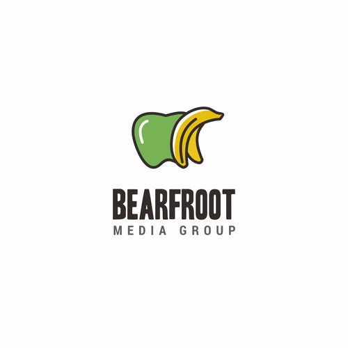 Logo with Bear + Fruit