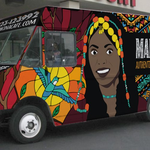 makina cafe food truck