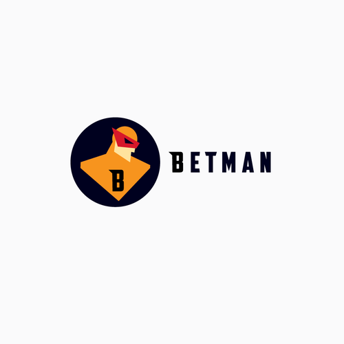 Superhero logo for betting App