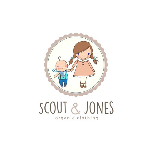 Scout & Jones logo design