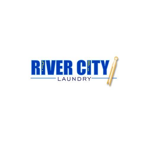 laundromat logo city