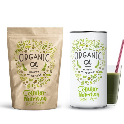 Packaging concept for Organic α