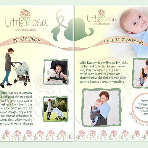 New Leaflet for Baby product - 1 of 3 Contests Available!