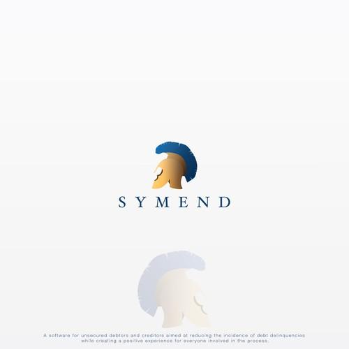 A logo for a software company.