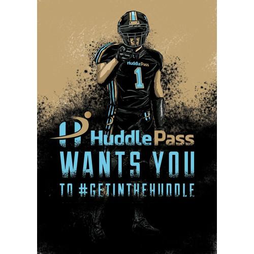 Illustration for Huddle Pass