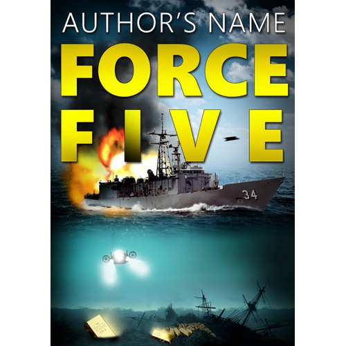 Action adventure nover Kindle book cover