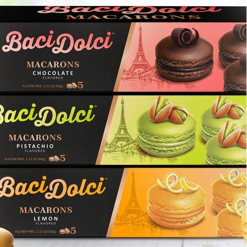 Baci Dolci macarons packaging line