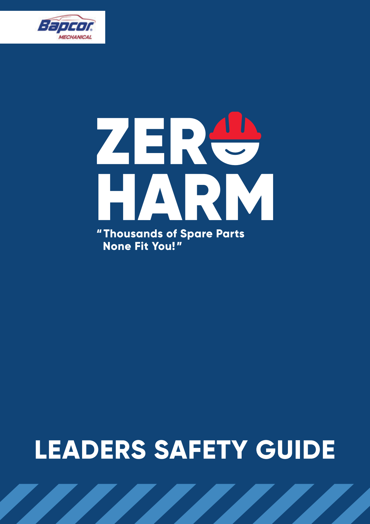 Zero Harm Safety Manual - Interactive PDF (forms)