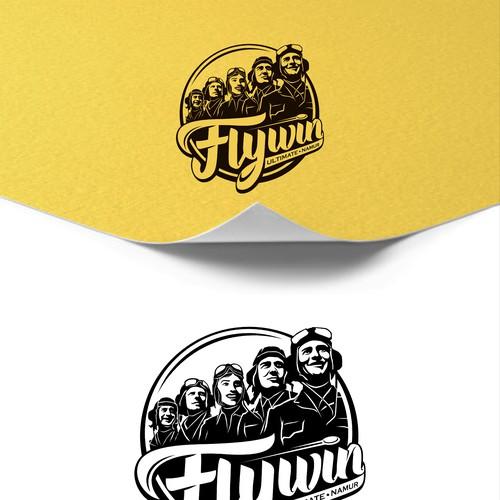 Frisbee team logo
