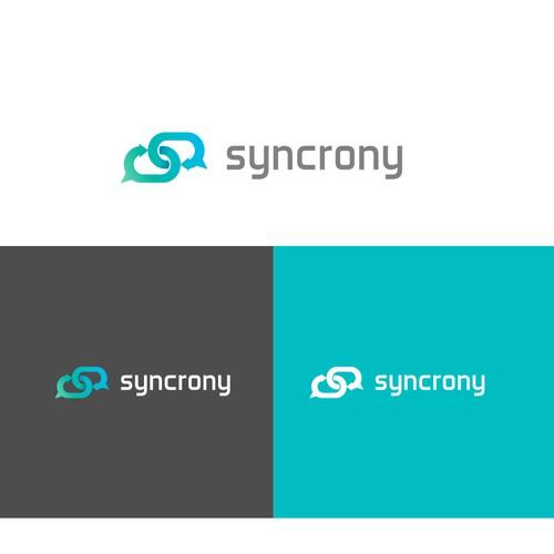 Logo for a communication app