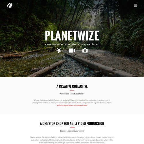 Create an amazing Planetwize landing page!