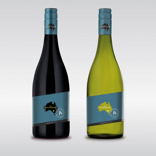 Australian wine label design