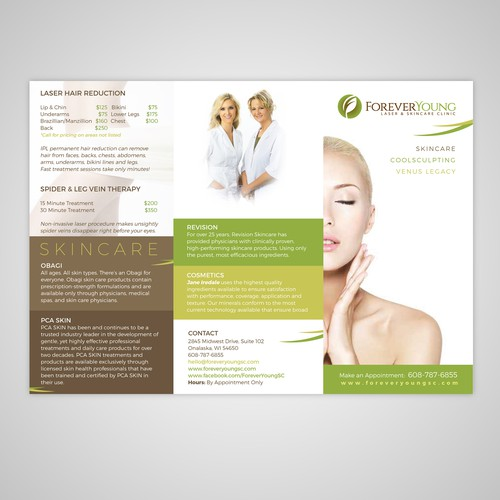 Forever Young Brochure