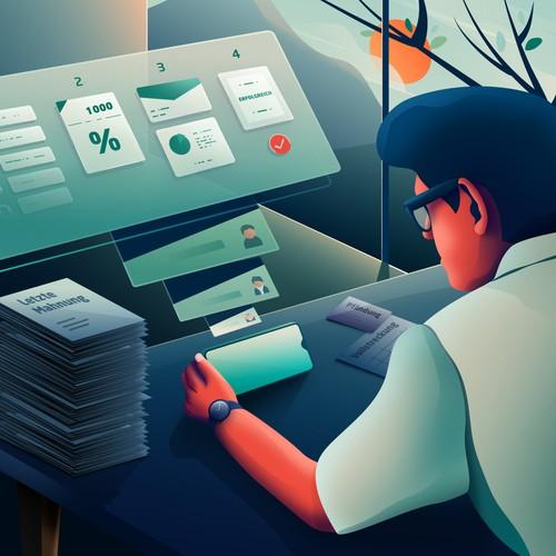 Illustration for debt management Project