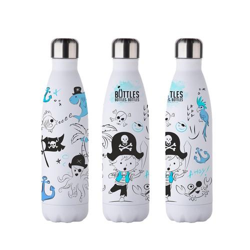 Reusable drinking bottles
