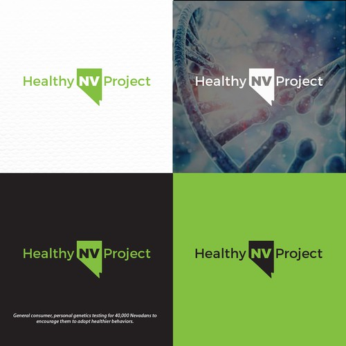 Logo for Healthy NV Project