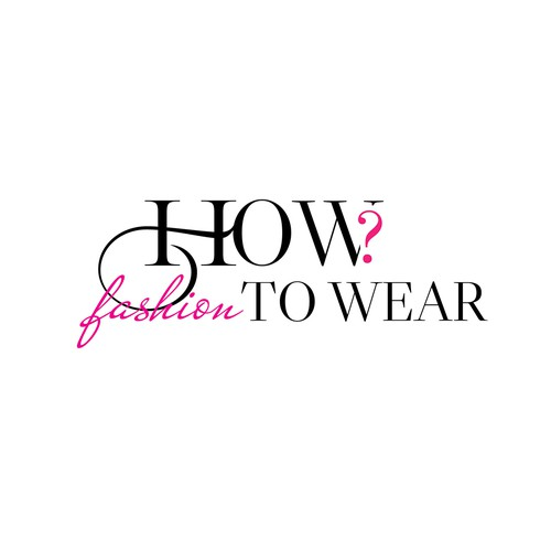 How to wear fashion - logo