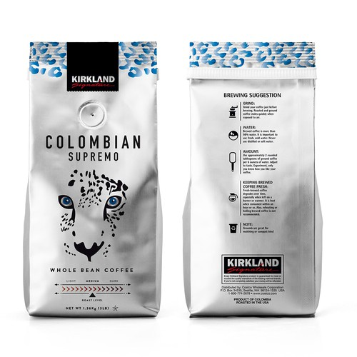 Coffee Packaging ~ Redesign