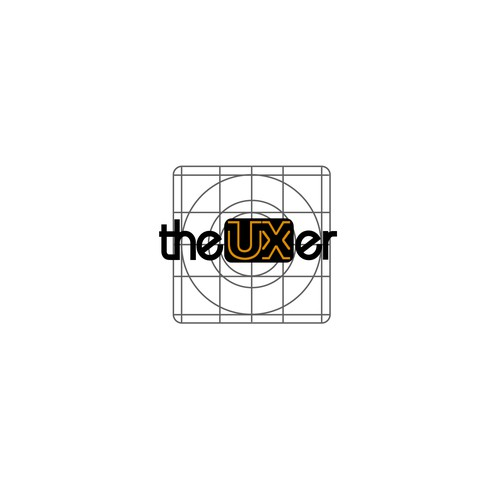 Logo for UX designer