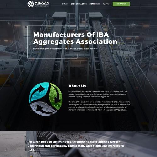 Web Design for high standards of IBA management