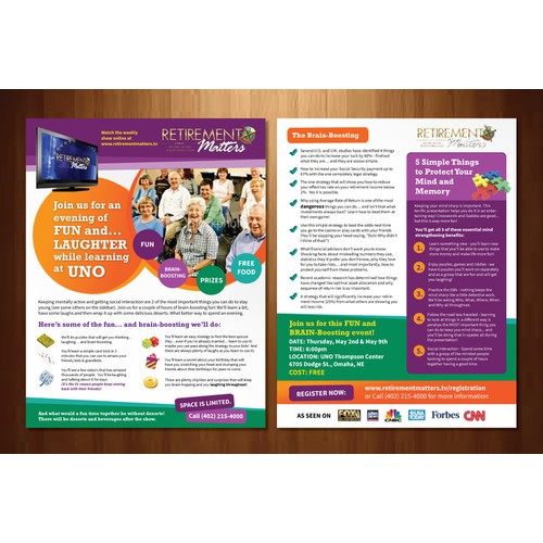 Create the next postcard or flyer for Strategic  Wealth Solutions