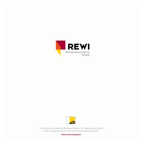 Logokonzept für die rechtswissenschaftliche Fakultät der Uni Graz