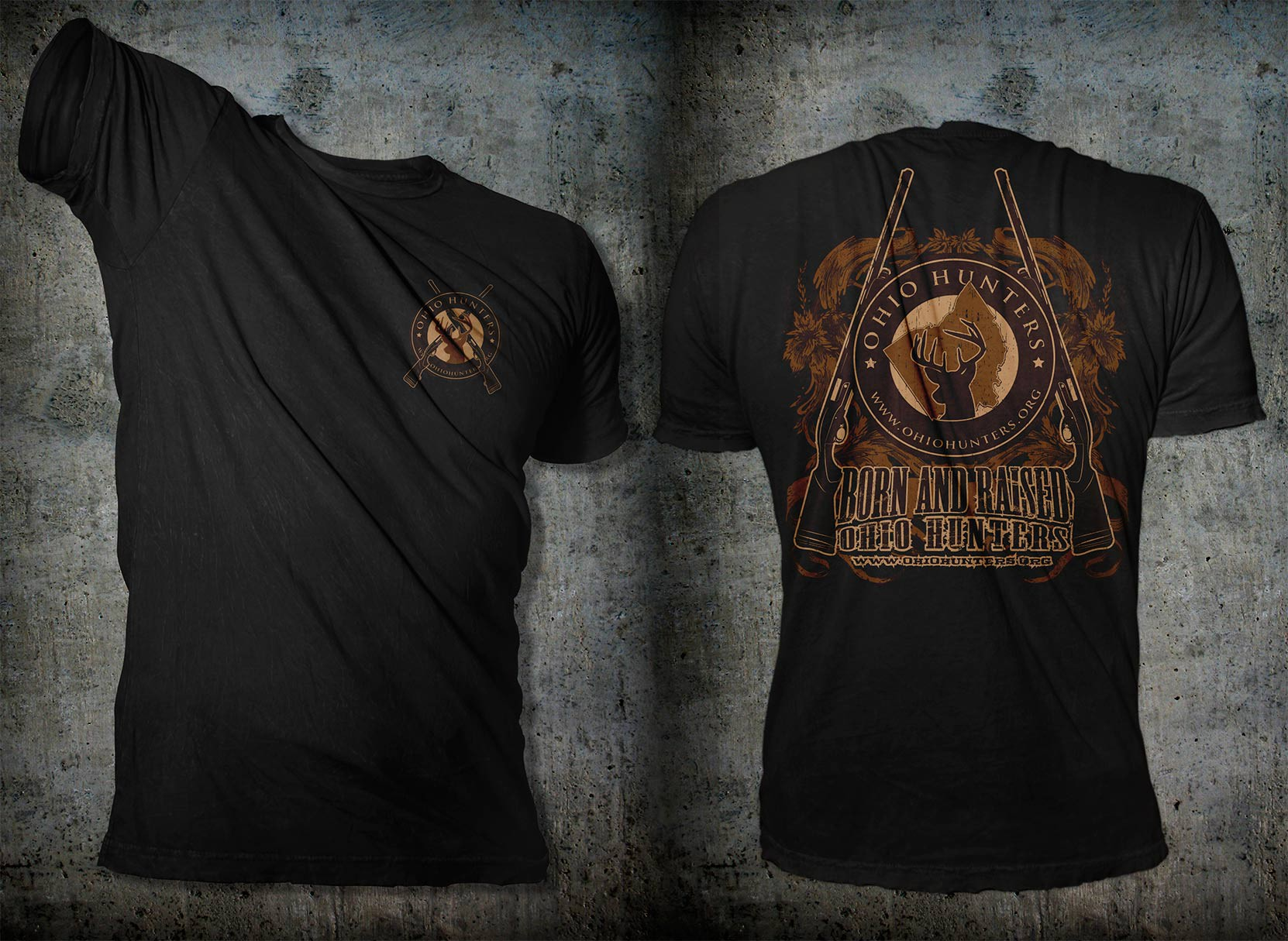 Hunting Club T-Shirt Design - Logo Provided!