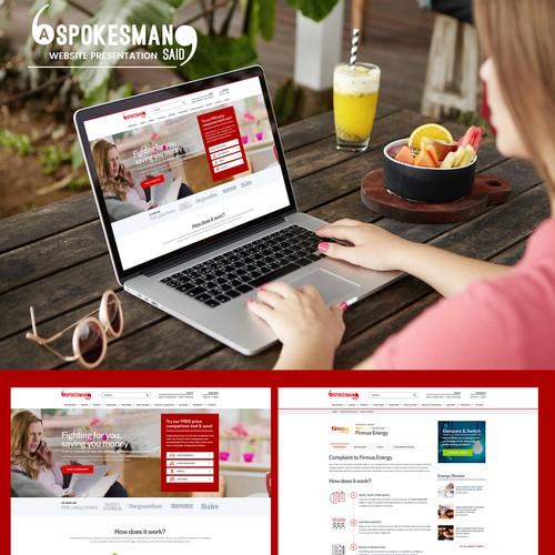 Concept for Consumer Complaints Website