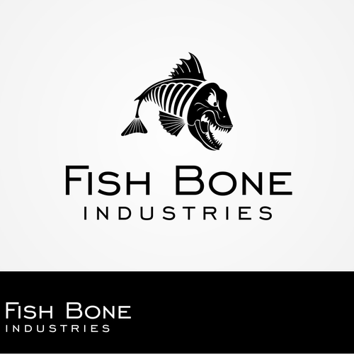 Create the next logo for Fish Bone Industries