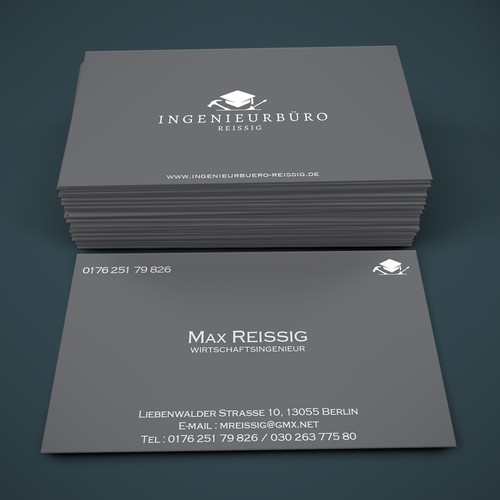 Logo and Business Card for Ingenieurbüro Reissig