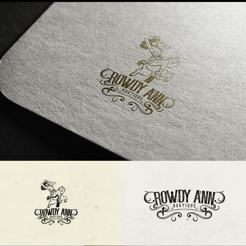 Rowdy Ann Boutique Logo