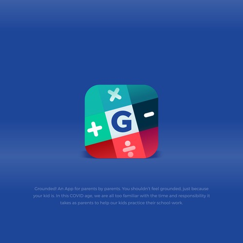 icon app grounded!