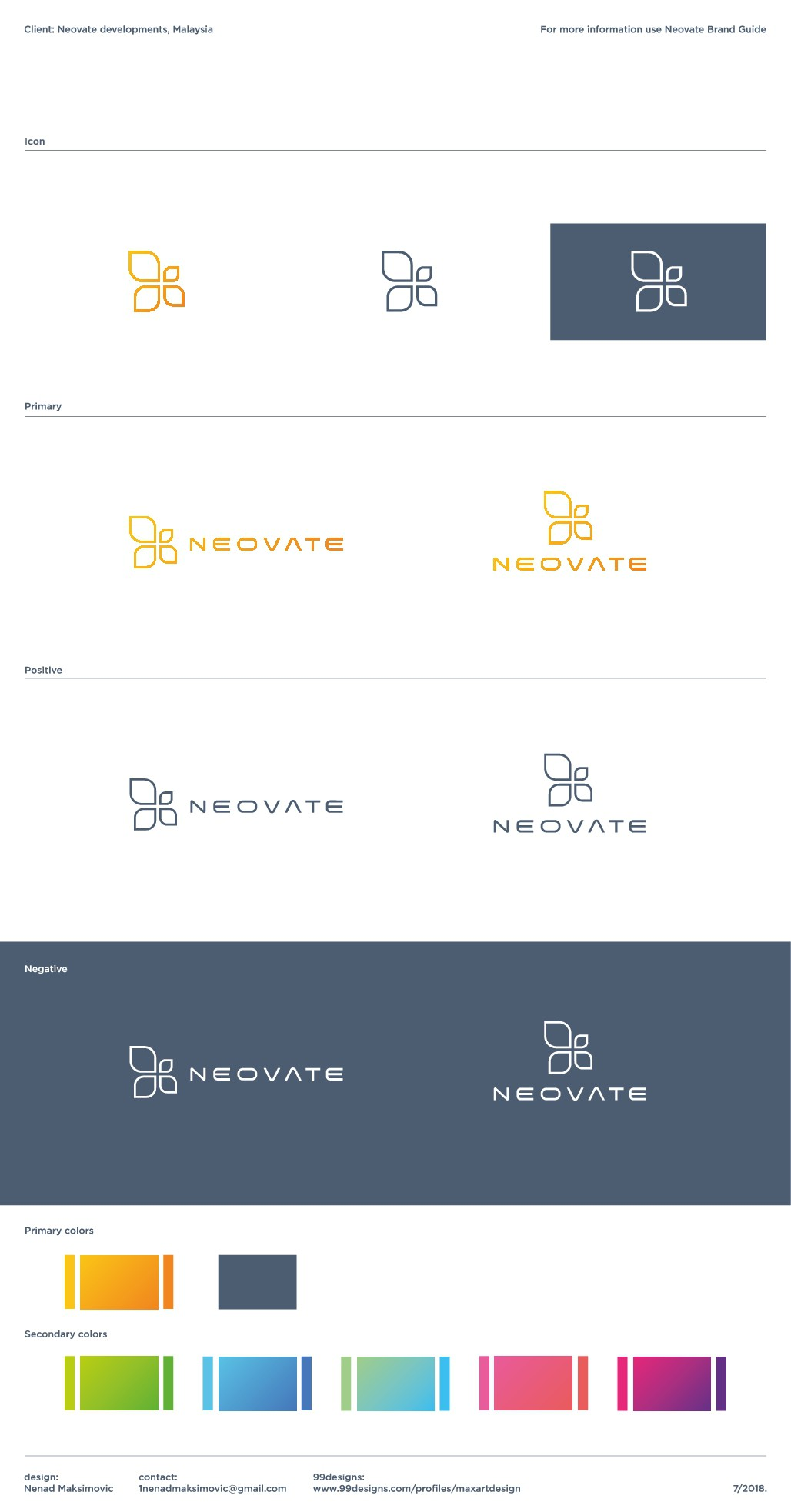 Create an abstract logo & brand identity for a new start up Property Developer