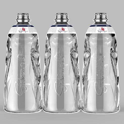 Glass Bottle from Eptinger