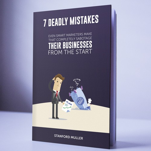 Playful yet professional e-book cover design