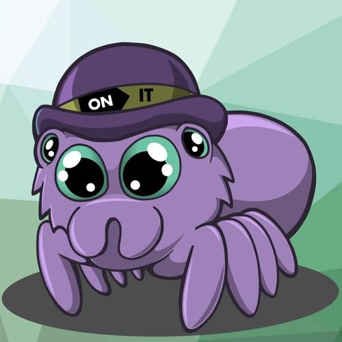 Spider Mascot for e-store